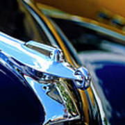 1947 Packard Hood Ornament 4 Poster