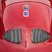 1948 Alfa Romeo Nardi Danese Convertible Poster