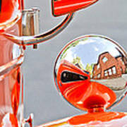 1948 Anglia Rear View Mirror -451c Poster