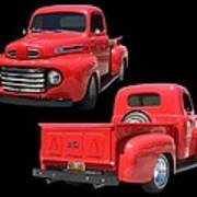 1948 Custom Ford F-100 Pick Up Poster