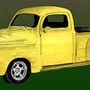 1948 Custom Ford Pick Up Poster