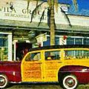 1948 Ford Woody Station Wagon Poster