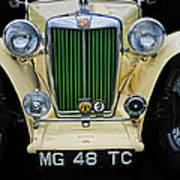 1948 Mgtc Poster