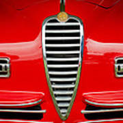 1949 Alfa Romeo 6c 2500 Ss Pininfarina Cabriolet Grille Poster