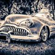 1949 Buick Eight Super Poster by motography aka Phil Clark