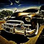 1949 Chevrolet Deluxe Coupe Poster by motography aka Phil Clark