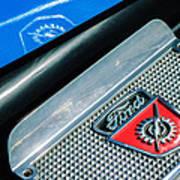 1949 Ford F-1 Pickup Truck Step Plate Emblem -0043c Poster