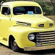 1949 Ford Pickup Poster