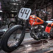 1949 Harley Davidson Poster