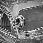 1949 Mercury Club Coupe Bw   Poster