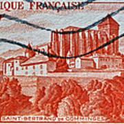 1949 Republique Francaise Stamp Poster