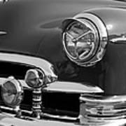 1950 Chevrolet Deluxe Head Lights Poster