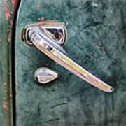 1950 Classic Chevy Pickup Door Handle Poster by Adam Romanowicz