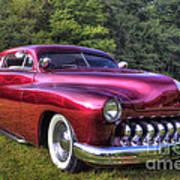 1950 Custom Mercury Poster