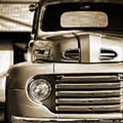 1950 Ford F-100 Poster