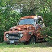 1950 Ford F100 Poster