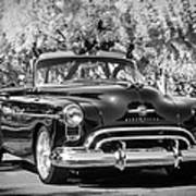 1950 Oldsmobile 88 -105bw Poster