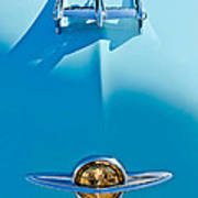 1950 Oldsmobile Hood Ornament Poster by Jill Reger
