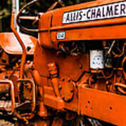 1950s-vintage Allis-chalmers D14 Tractor Poster