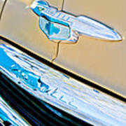 1951 Chevrolet Style Deluxe Grille Emblem Poster