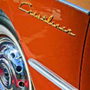 1951 Ford Crestliner Emblem - Wheel Poster