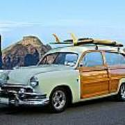 1951 Ford 'woody' Wagon Poster