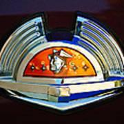 1951 Mercury Emblem Poster