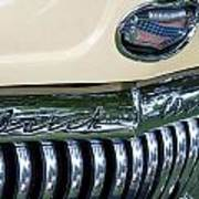 1952 Buick Eight Grill Poster