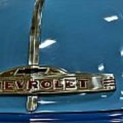 1952 Chevrolet Pickup Hood Poster