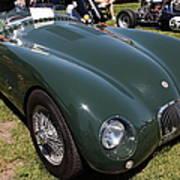 1952 Jaguar Xk120 Roadster 5d22967 Poster