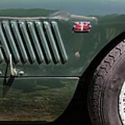 1952 Jaguar Xk120 Roadster 5d22972 Poster