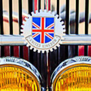 1952 Mg Replica Grille Emblem Poster
