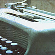 1952 Olivetti Typewriter Poster by Georgia Fowler