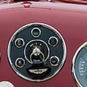 1953 Aston Martin Db2-4 Bertone Roadster Instrument Panel Poster