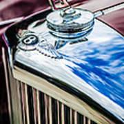 1953 Bentley R-type Hood Ornament - Emblem -0790c Poster