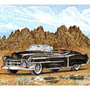 1953 Cadillac Eldorado Biarritz Poster