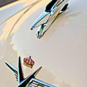 1953 Chrysler Imperial Custom Hood Ornament Poster