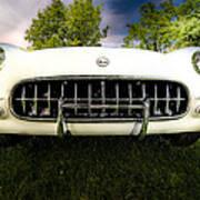 1954 Corvette Stingray Poster