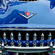 1953 Desoto Firedome Convertible Grille Emblem Poster
