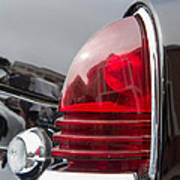1953 Lincoln Capri Tail Light Poster
