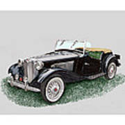 Mg T D 1953 Poster
