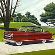 1953 Nash Rambler - Square Format Image Picture Poster
