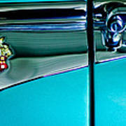 1953 Packard Caribbean Convertible Emblem 4 Poster
