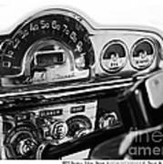1953 Pontiac Silver Streak Poster