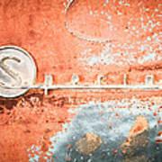 1954 Buick Special Emblem Poster