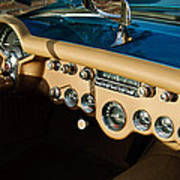 1954 Chevrolet Corvette Steering Wheel -502c Poster