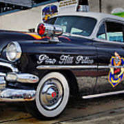 1954 Chevy Dare Police Car  Pine Hill  Nj Poster