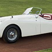 1954 Jaguar Xk120 Roadster  Poster