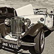1954 Mg Td Sepia Poster