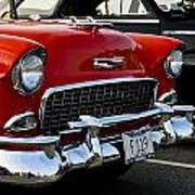 1955 Chevy Bel Air Front End Poster